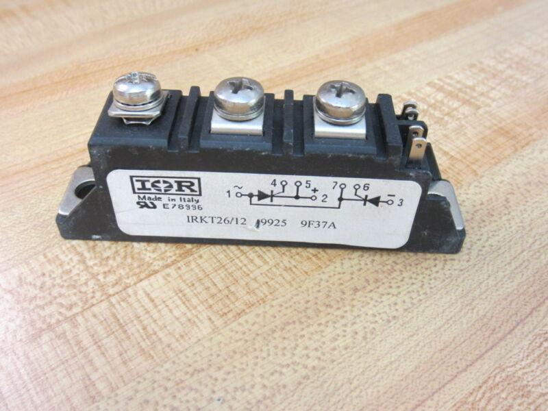IOR IRKT26/12 1200V 27A Thyristor Module IRKT2612 (Pack of 3)
