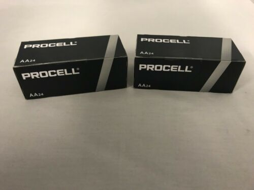 48 New AA Procell Alkaline Batteries by Duracell PC1500 EXP 2026