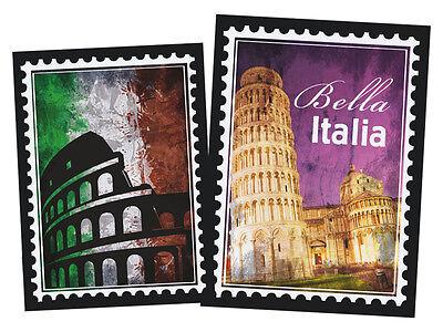 oo Aufkleber Welt für Wohnzimmer Italien Rom Land Italia (Aufkleber-welt)