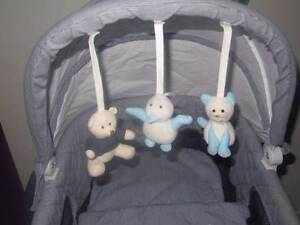 Love n Care Baby Boy Bassinet with Extras Franklin Gungahlin Area Preview