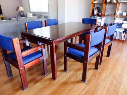 Dinning Table, Chairs, Sideboard & Coffee Table