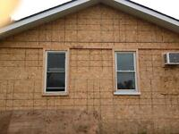 Window caulking,window capping ,replacement of windows & doors