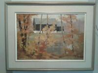 Original Oil Painting by Famous Canadian Artist Tom Roberts