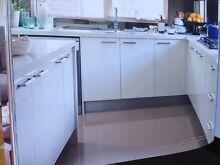 1400x600 quartz stone kitchen benchtop ice rock Clayton Monash Area Preview