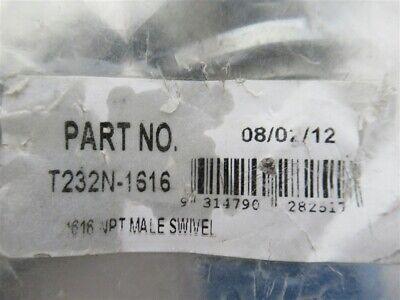 Rayco T232n-1616 1 Npt Male Swivel Hydraulic Coupling1 I.d. Bag 4