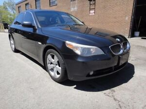 2007 BMW 5 Series |530XI|CLEAN CARPROOF|AWD|FULLY LOADED|
