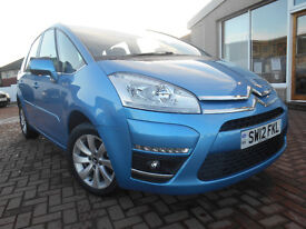 CITROEN C4 PICASSO VTR PLUS HDI 5STR (blue) 2012