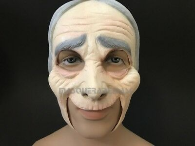 The old man old lady skin face Halloween Costume prom cosplay dress up - Up Old Man Halloween Costume