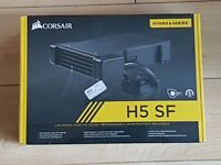 BRAND NEW (unopened) low profile mini-itx (mITX) liquid CPU cooler (Corsair H5 SF)