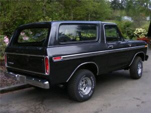 LOOKING for a 78-79 ford bronco