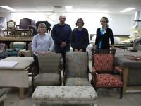 UPHOLSTERY CLASSES!