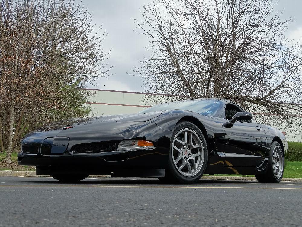 2002 Black Chevrolet Corvette Z06  | C5 Corvette Photo 4