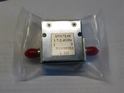 Fairview Microwave Sfi1742s Isolator Sma Female 18 Db Isolation 1.7-2.4ghz 10w