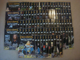 Lord of the Rings game magazine collection (FULL SET IN GOOD CONDITION)