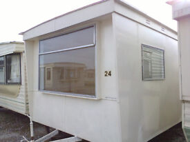 "Vintage Retro Static Caravan, ""Britannia 2"", In Nice Condition, Great Price"
