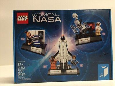 New Nib Lego Ideas 21312 Women Of Nasa Nisb Factory Sealed