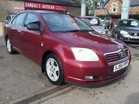 TOYOTA AVENSIS T3-X D-4D (red) 2004