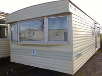Static caravan, great little 23 x 10 ft 1 bedroom, comforable and compact, low price