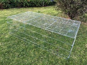 X-Large Rabbit Run, 2.2M Kitten Play Pen, Chicken Run Hutch with cover