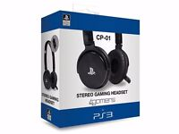 CP-01 Stereo gaming headset for ps3/pc
