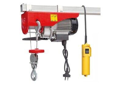 440 Electric Hoist Overhead Lift Motor Crane Garage Engine Winch Remote Control