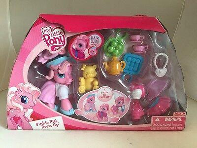 My Little Pony Dress Up Pony - TEA PARTY WITH PINKIE PIE - 2008 - NEW - RARE! - My Little Pony Dress Up Pinkie Pie