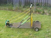 Dog Sled training Cart
