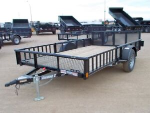 2016 Diamond C 2PSA 12' Utility Trailer