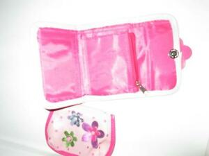 Little Girl's Pink Poppy Wallet and Coinpurse set, EUC Belleville Belleville Area image 3
