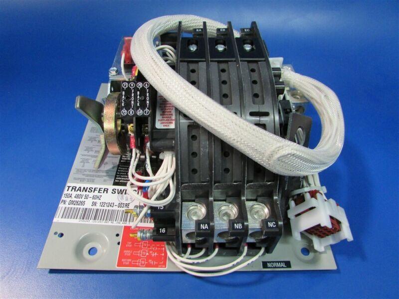 New Kohler 150A 480v Transfer Switch Contactor GM26265