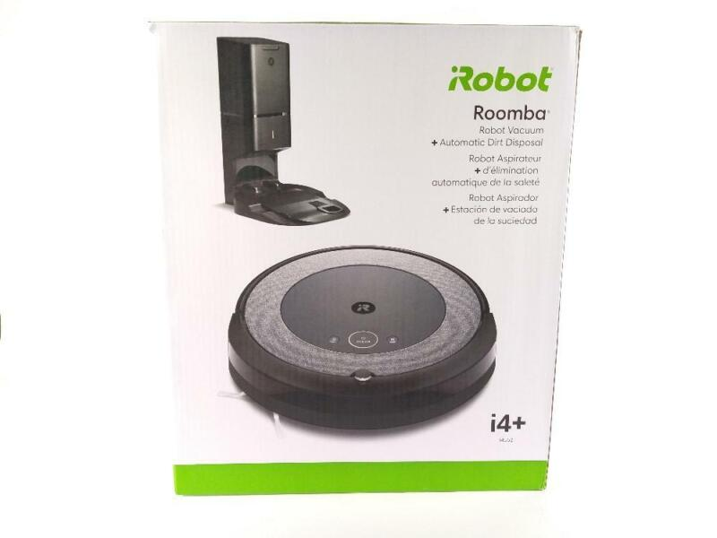iRobot Roomba i4+ 4552 w/ Automatic Dirt Disposal - Preowned