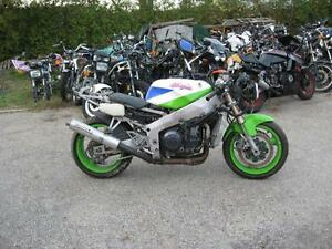 1992 zx7 ninja parts bike