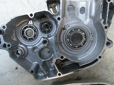 04 Suzuki RMZ 250 Left Engine Case   oem stock