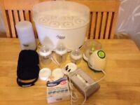 Tommee Tippee bundle - NEW bottles blender flask bottle warmer lids sterilizer - can post