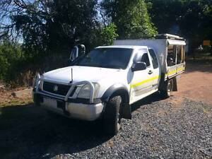 2004 Holden Rodeo 4x4 Ute Xtracab n Canopy Rockhampton Rockhampton City Preview