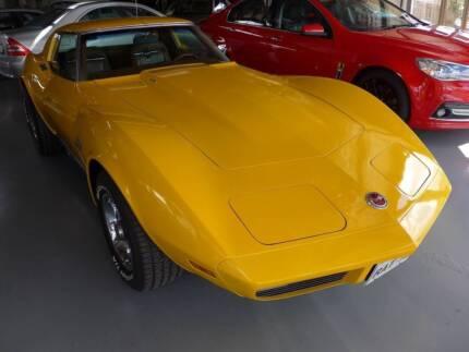 1973 Chevrolet Corvette Perth Northern Midlands Preview
