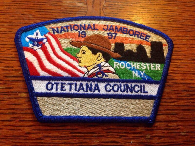 MINT 1997 JSP Otetiana Council Blue Border