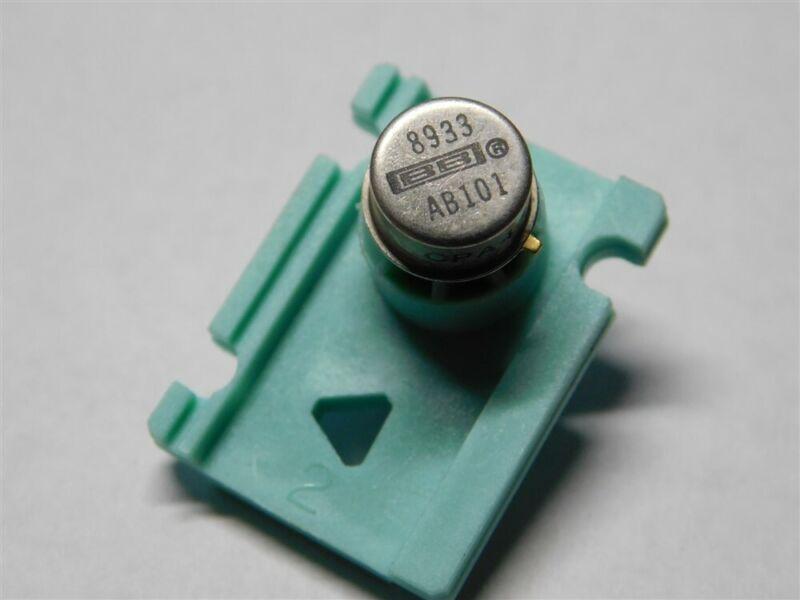 Original Burr-Brown OPA445BM High Voltage FET-Input Op Amp TO-99 8-Pin Metal Can