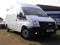 2021 Ford Transit 125 T300 LWB Euro 5 Van In White