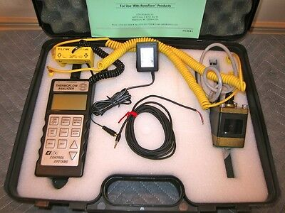 Cito Products Thermoflow Analyzer Fa-9600 Flow Readout Fr-9600 Flow Calibrator