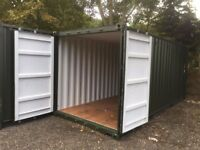 Container Storage Space For Rent in Takeley from £14 P/W Ground Floor Self Storage