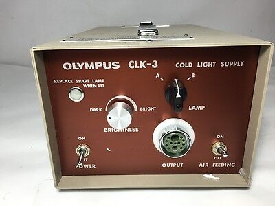 Olympus Clk-3 Endoscope Cold Light Supply