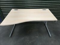 4ft wave office desk - limited amount available - computer desk