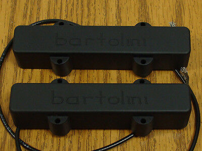 NEW Bartolini 57J1 5 String Jazz Bass PICKUP SET for Fender Jazz Bass Pickups 5 String Jazz Pickup