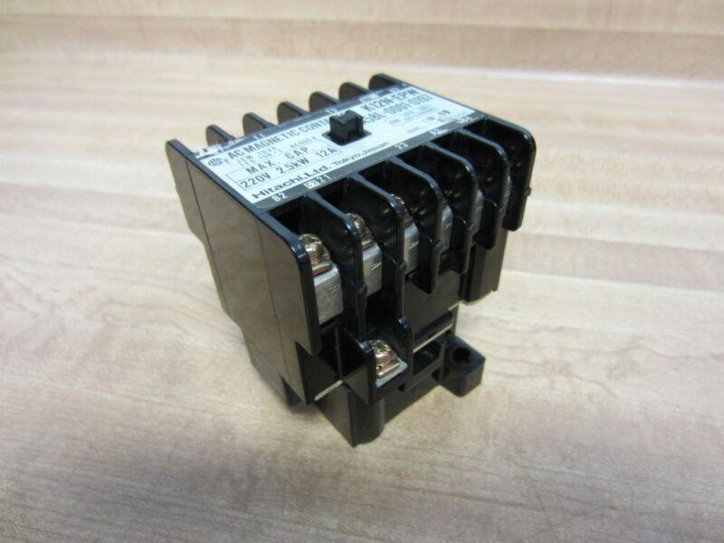 Hitachi A58L-0001-0197 A58L00010197 AC Magnetic Contactor K12N-EPW (Pack of 3)
