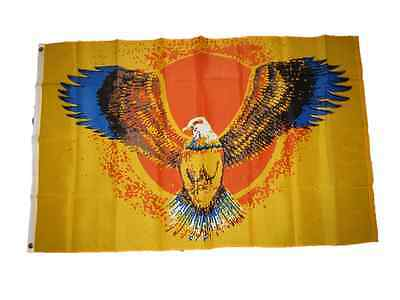 - 3x5 Eagle Wings Sun Flag 3'x5' Brass Grommets polyester Native Pride Flag