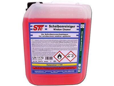 Klar Reiniger (5 L STC Scheibenreiniger Konzentrat 1:100 Scheibenklar Scheibenreinigerzusatz)