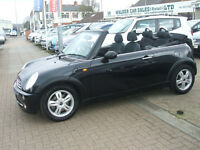 MINI CONVERTIBLE ONE (black) 2006