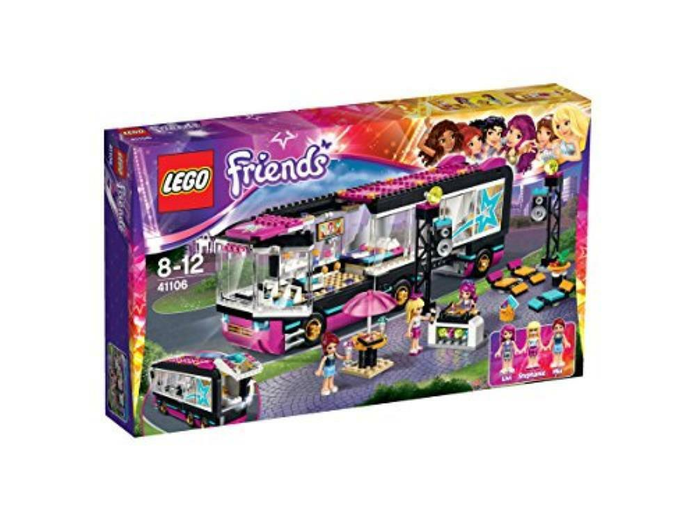 Lego Friends 41106 Pop Star Tour Bus With Instructions For Sale