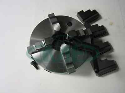 10 4-jaw Self-centering Lathe Chuck With Extra Jaws ---new